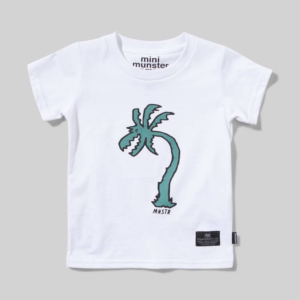 Mini Munster Jurassic Tee White | Tiny People