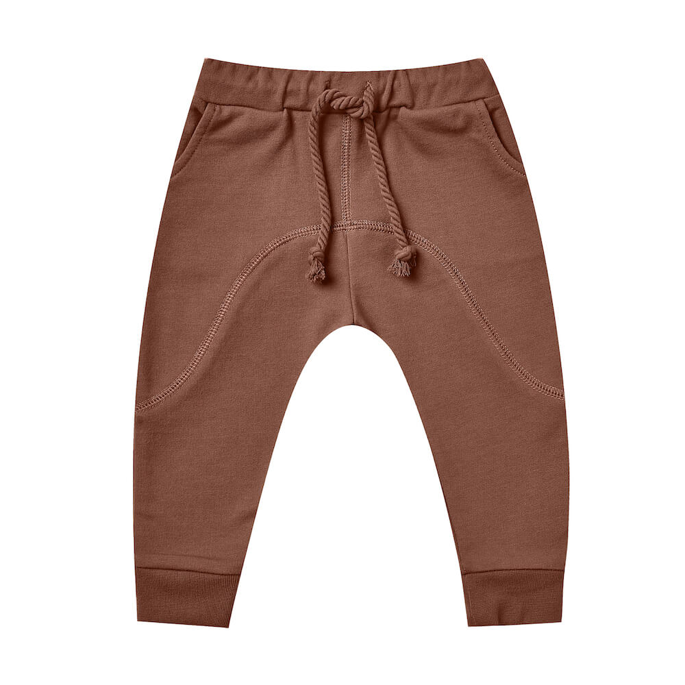 Rylee & Cru Bolt Jame Pant Wine | Tiny People