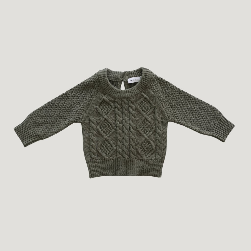 Cable Knit Laurel