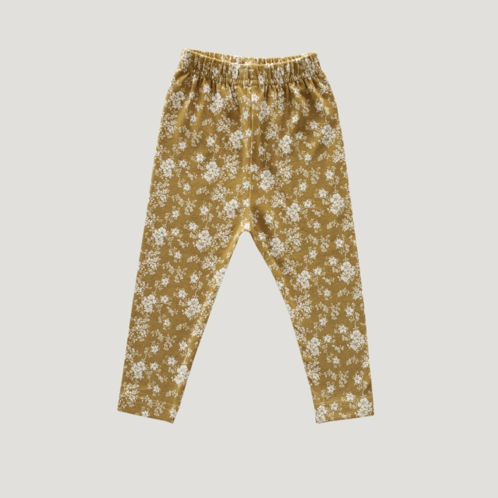 Cotton Essentials Leggings Golden Floral