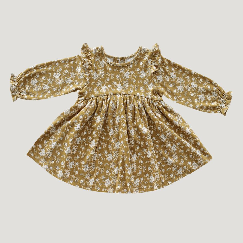 Dress Golden Floral
