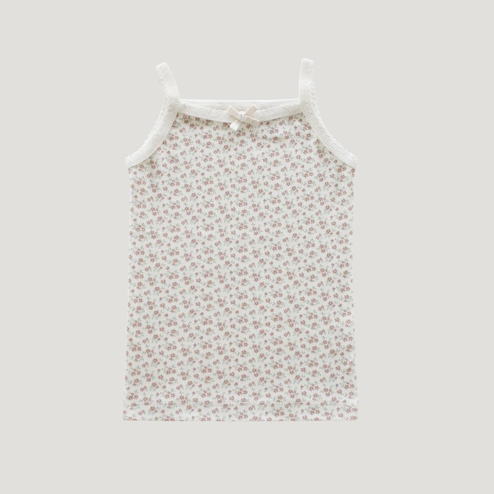 Jamie Kay Singlet Nostalgia Floral Girls Tops & Tees - Tiny People Cool Kids Clothes