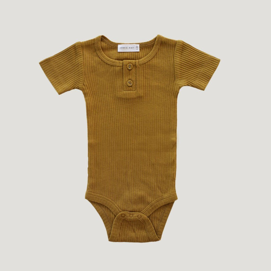 Cotton Essentials Tee Bodysuit Golden