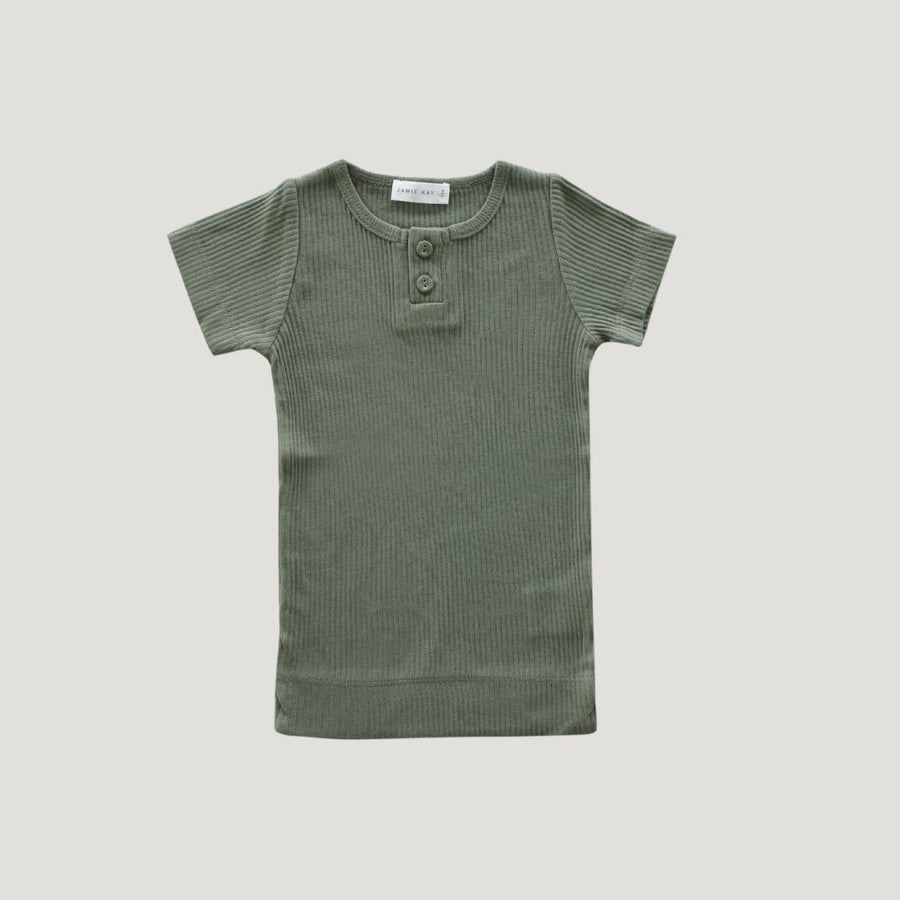 Cotton Modal Tee Laurel