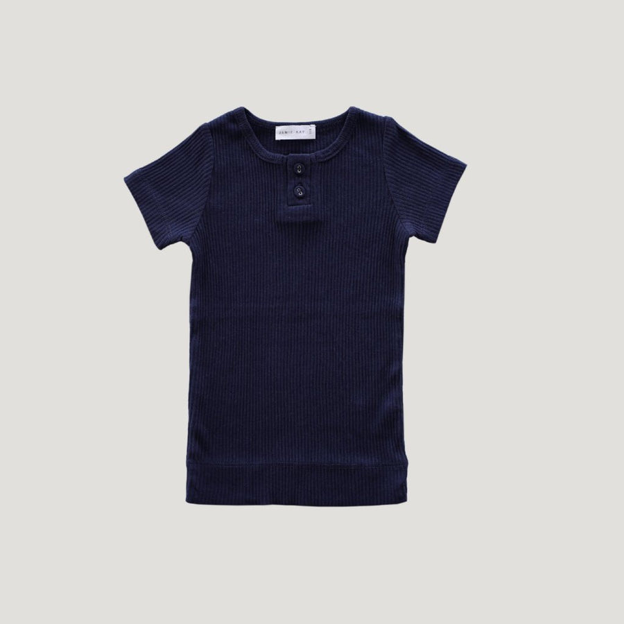 Cotton Essentials Tee Navy