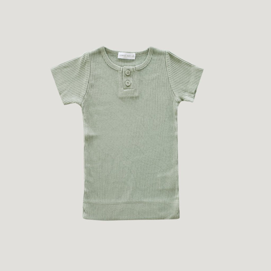 Cotton Essentials Tee Sage