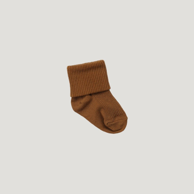Rib Socks Bronze