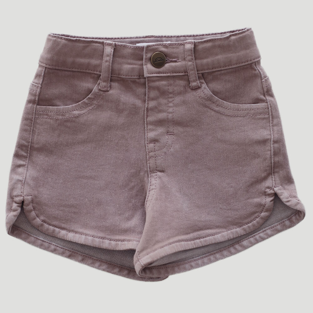 Jamie Kay Daisy Denim Short Periwinkle | Tiny People