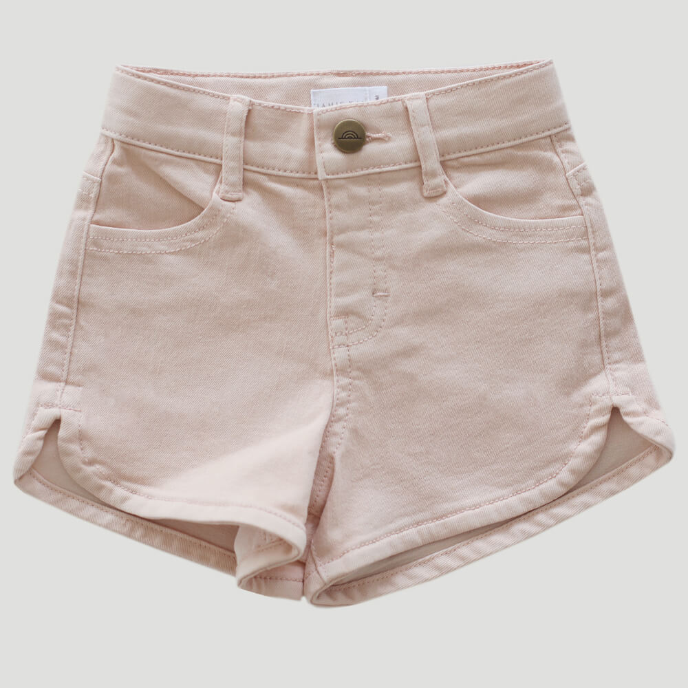 Jamie Kay Daisy Denim Short Petal | Tiny People