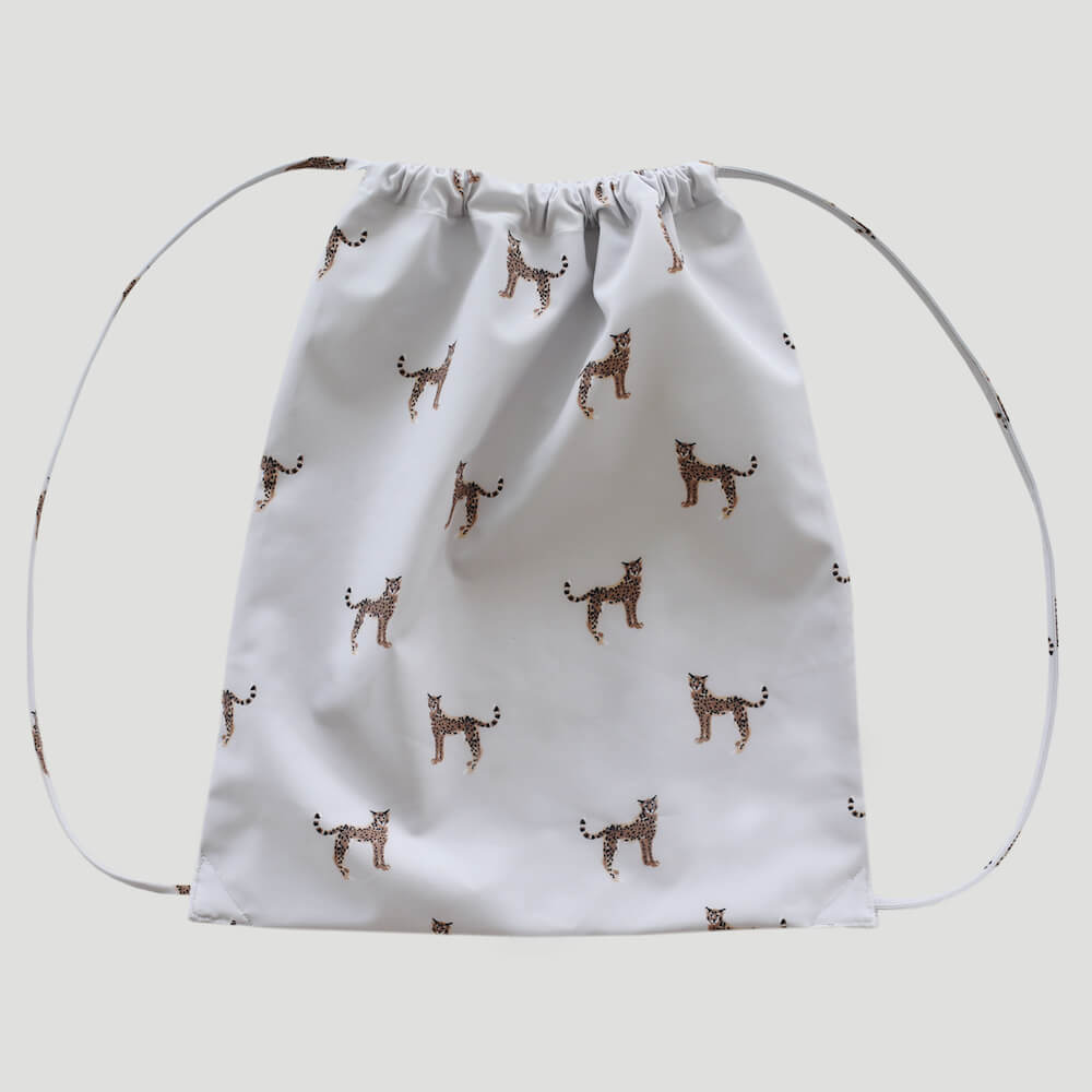 Jamie Kay Swim Bag Cheetah | Tiny People