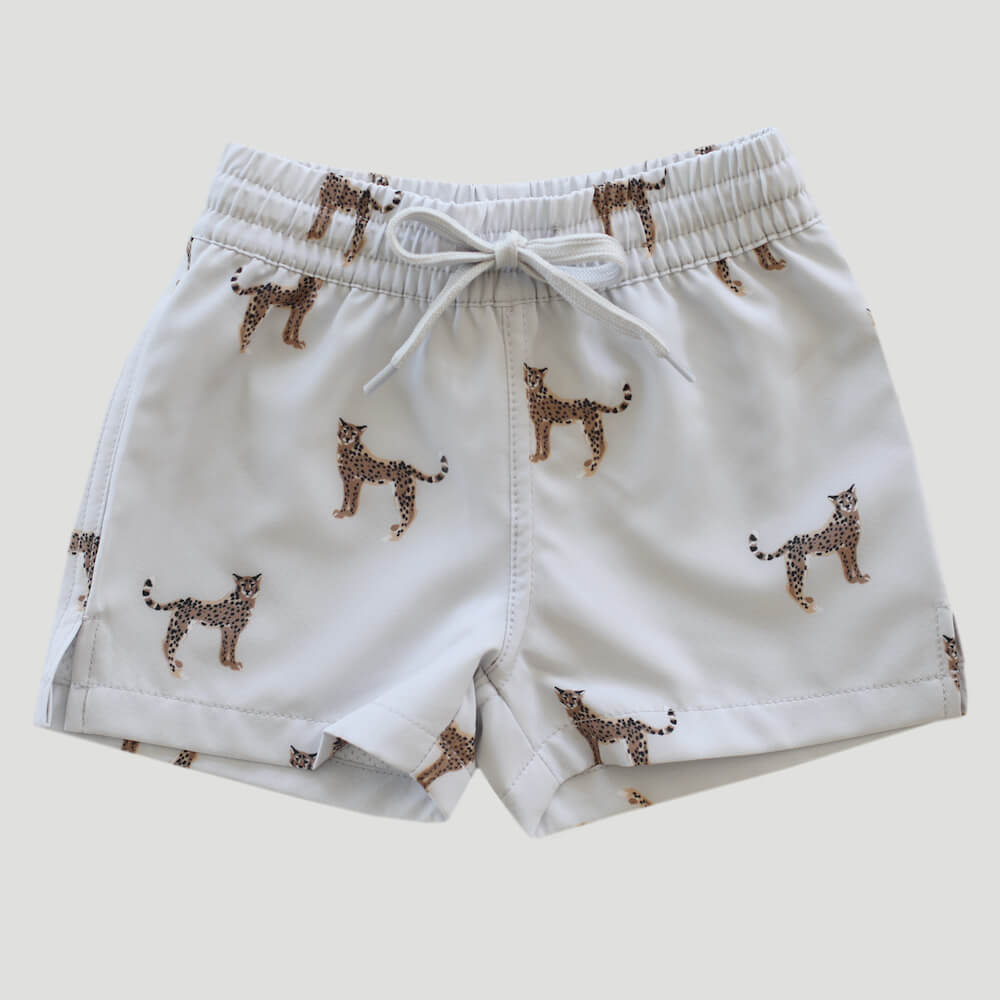 Jamie Kay Swim Trunk Cheetah | Tiny People
