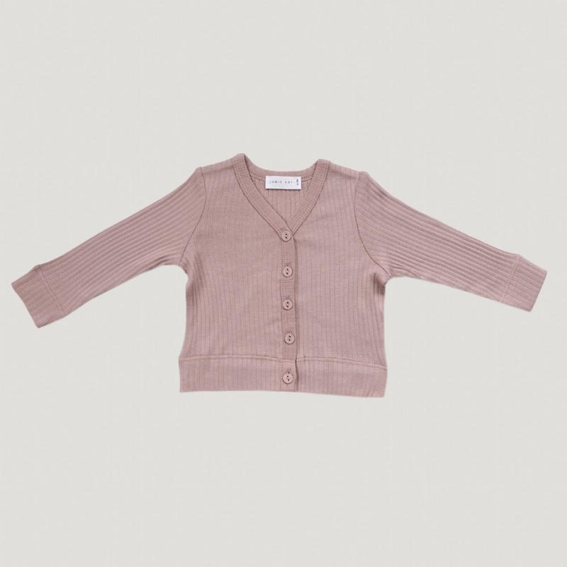 Jamie Kay Cotton Modal Cardi Rosy Cardigan - Tiny People Cool Kids Clothes