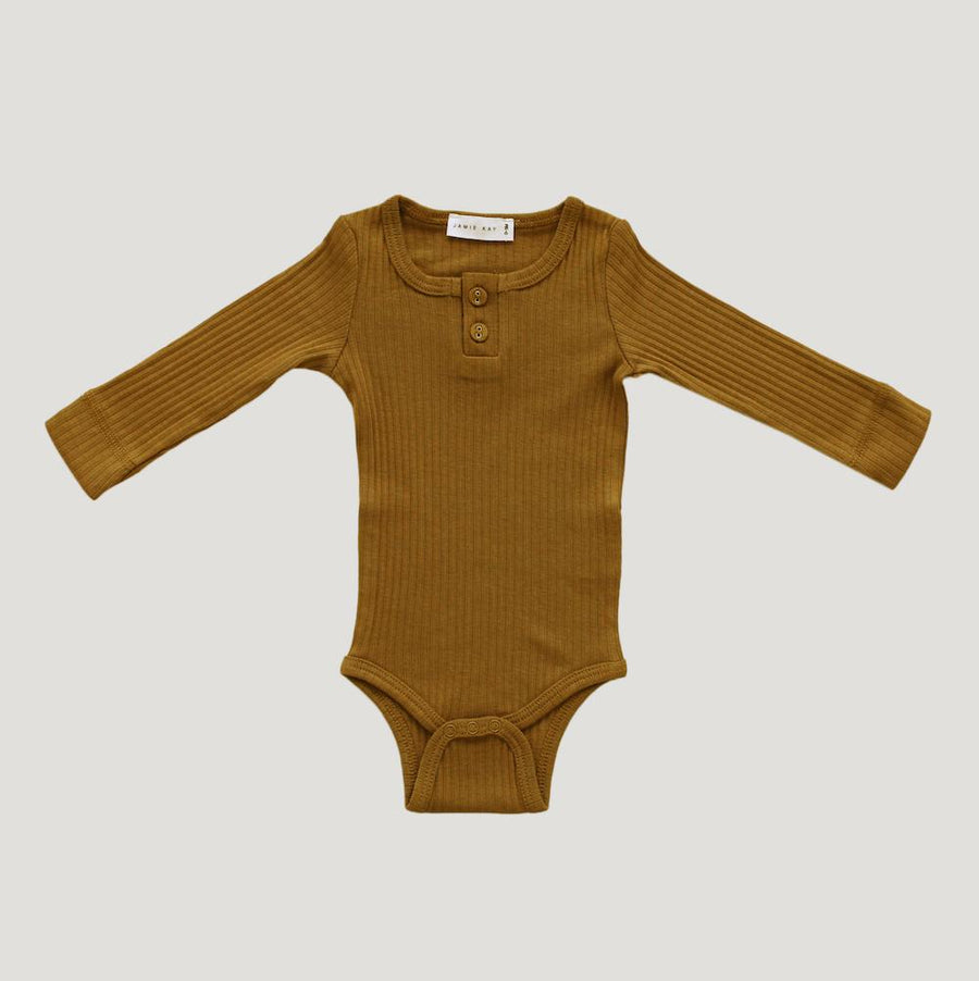 Cotton Essentials Bodysuit Golden