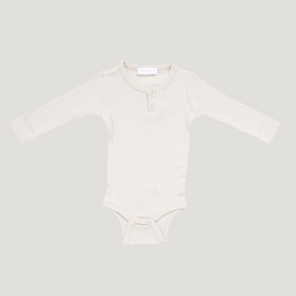 Jamie Kay Cotton Essentials Bodysuit Milk Bodysuits - Tiny People Cool Kids Clothes