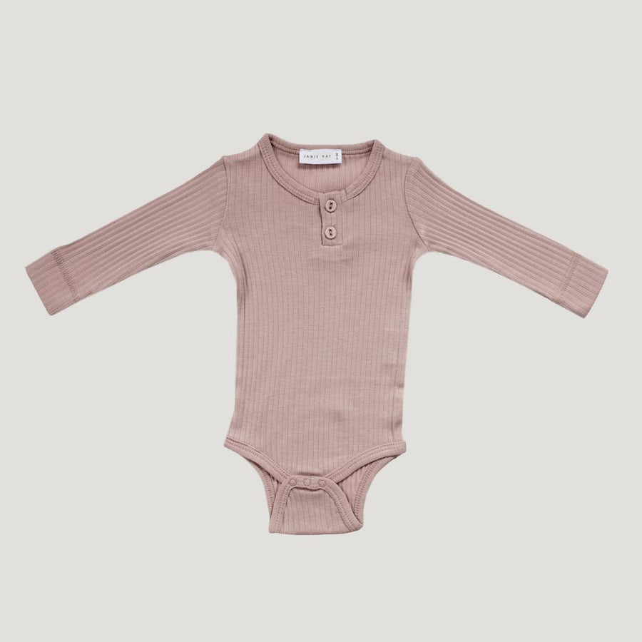 Cotton Essentials Bodysuit Rosy