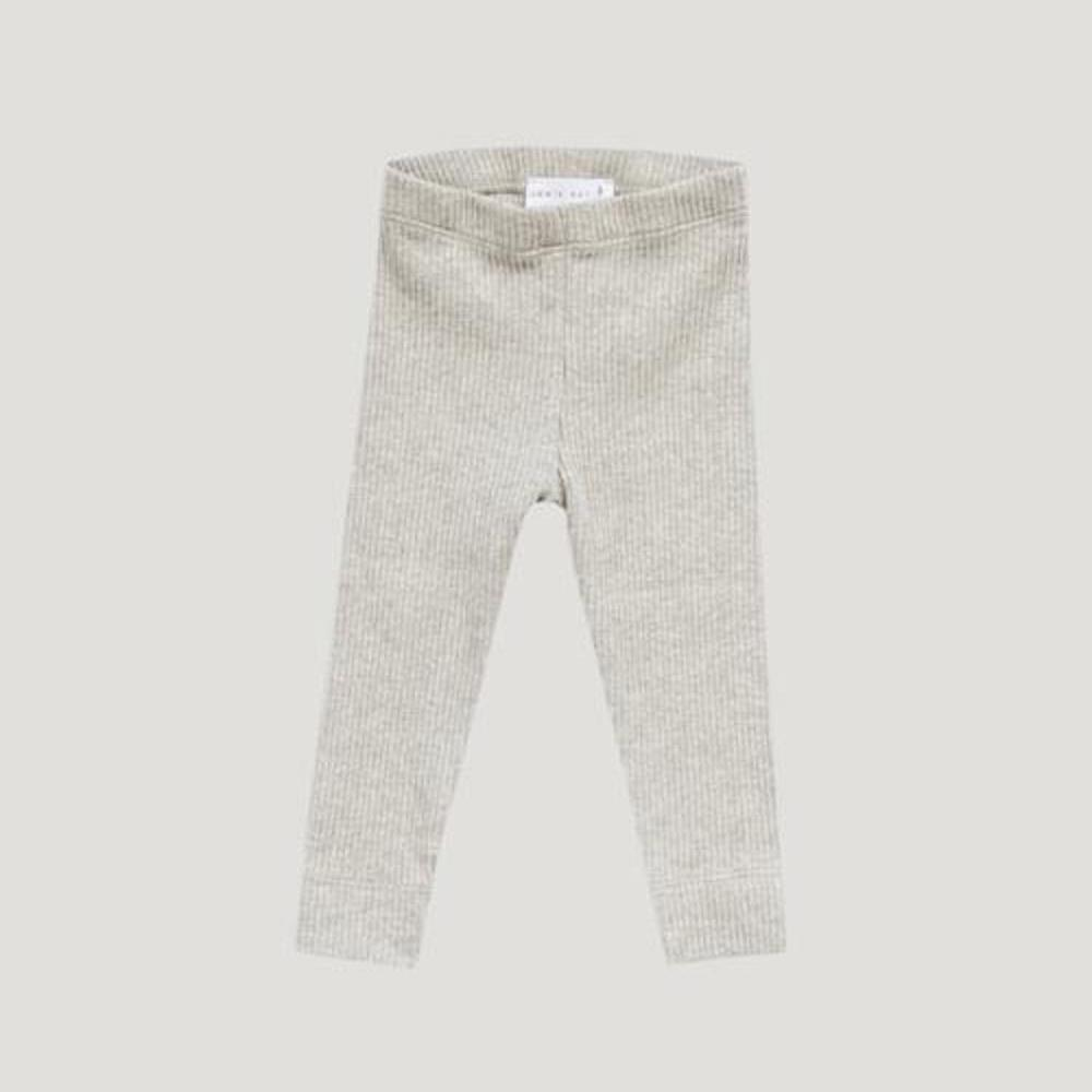 Jamie Kay Cotton Modal Leggings in Oatmeal Marle at Tiny People Shop Australia.
