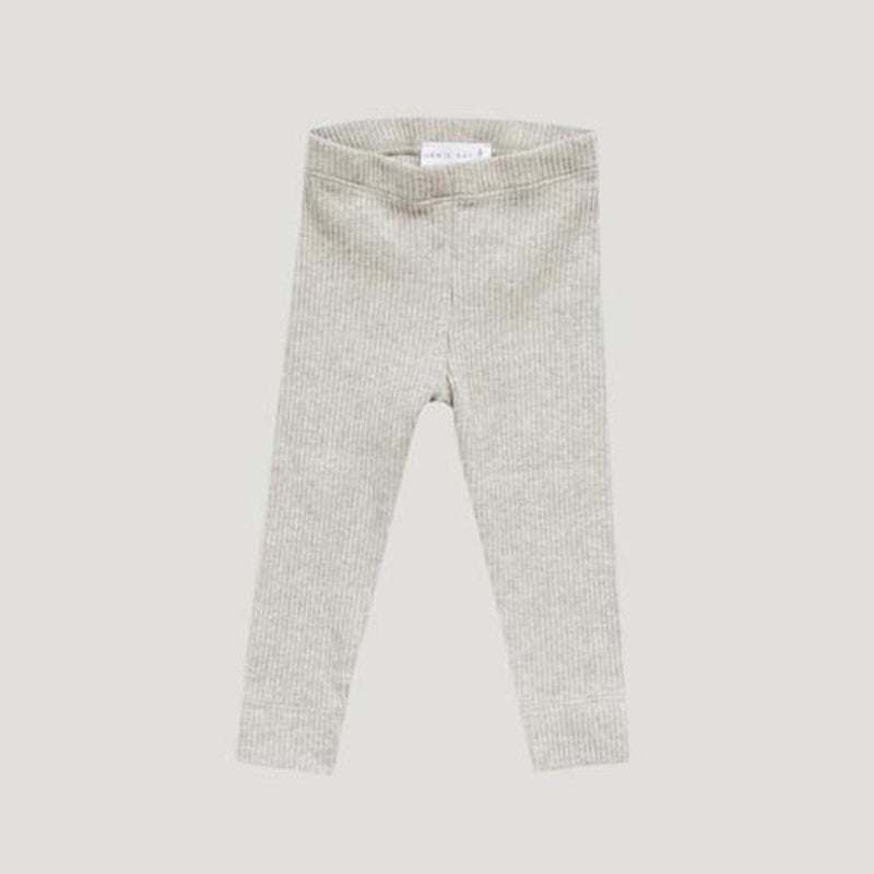 Jamie Kay Cotton Modal Leggings Oatmeal Marle Pants & Leggings - Tiny People Cool Kids Clothes