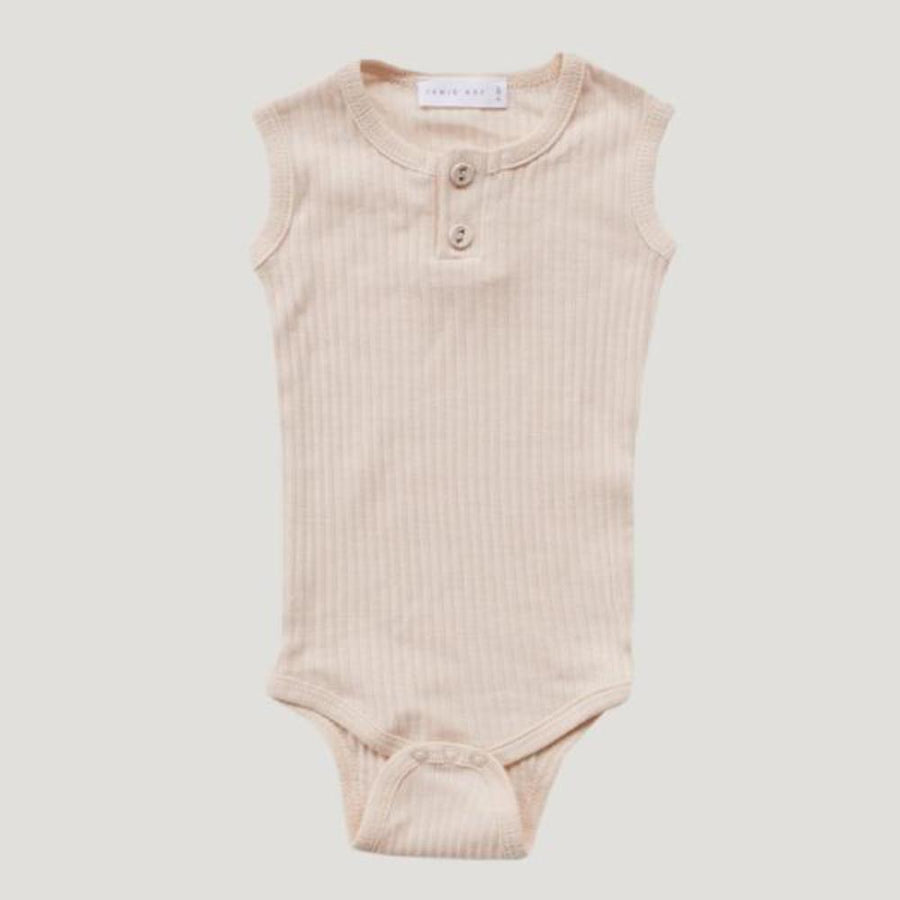 Jamie Kay Cotton Essentials Singlet Bodysuit - Posy - Tiny People Cool Kids Clothes Byron Bay