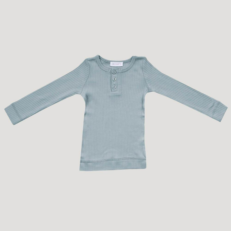 Jamie Kay Cotton Modal Henley Top Ether Tops - Tiny People Cool Kids Clothes