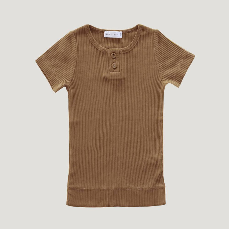 Original Cotton Modal Tee Bronze