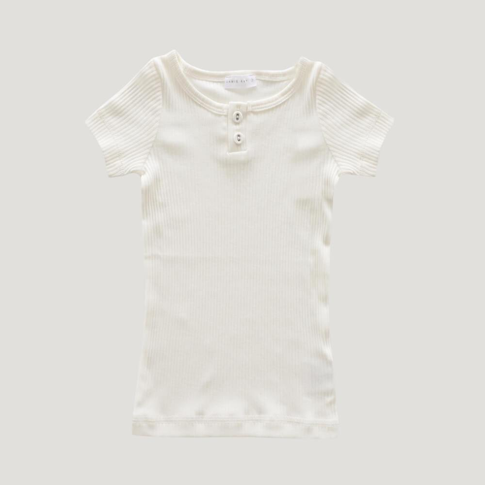 Original Cotton Modal Tee Milk