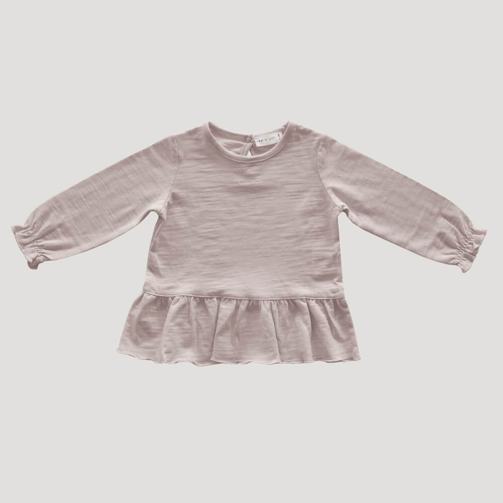 Jamie Kay Bailey Tee Candy Floss Tops - Tiny People Cool Kids Clothes