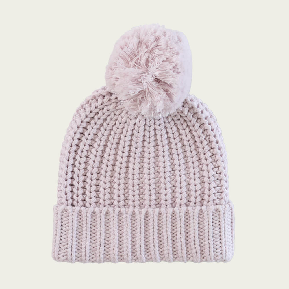 Jamie Kay Cosy Hat Dewberry Marle | Tiny People