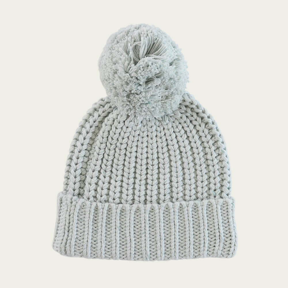 Jamie Kay Cosy Hat Sky Fleck | Tiny People
