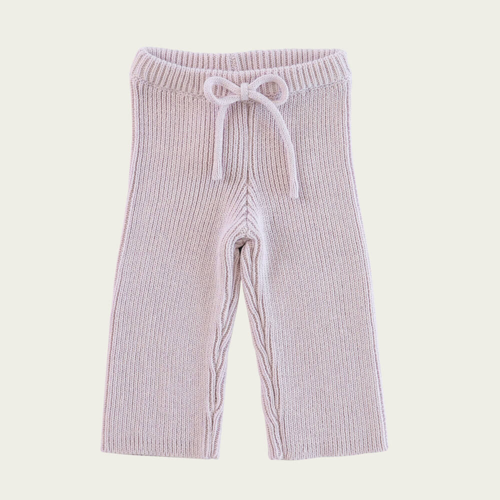Morgan Knit Pant Dewberry Marle