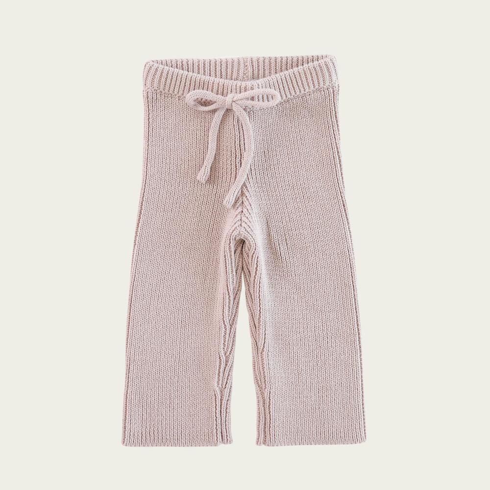 Jamie Kay Morgan Knit Pant Rosebud | Tiny People