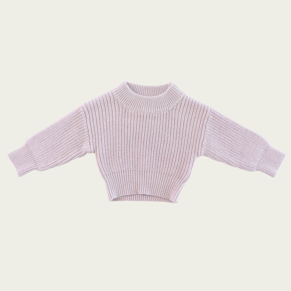 Jamie Kay Morgan Knit Dewberry Marle | Tiny People