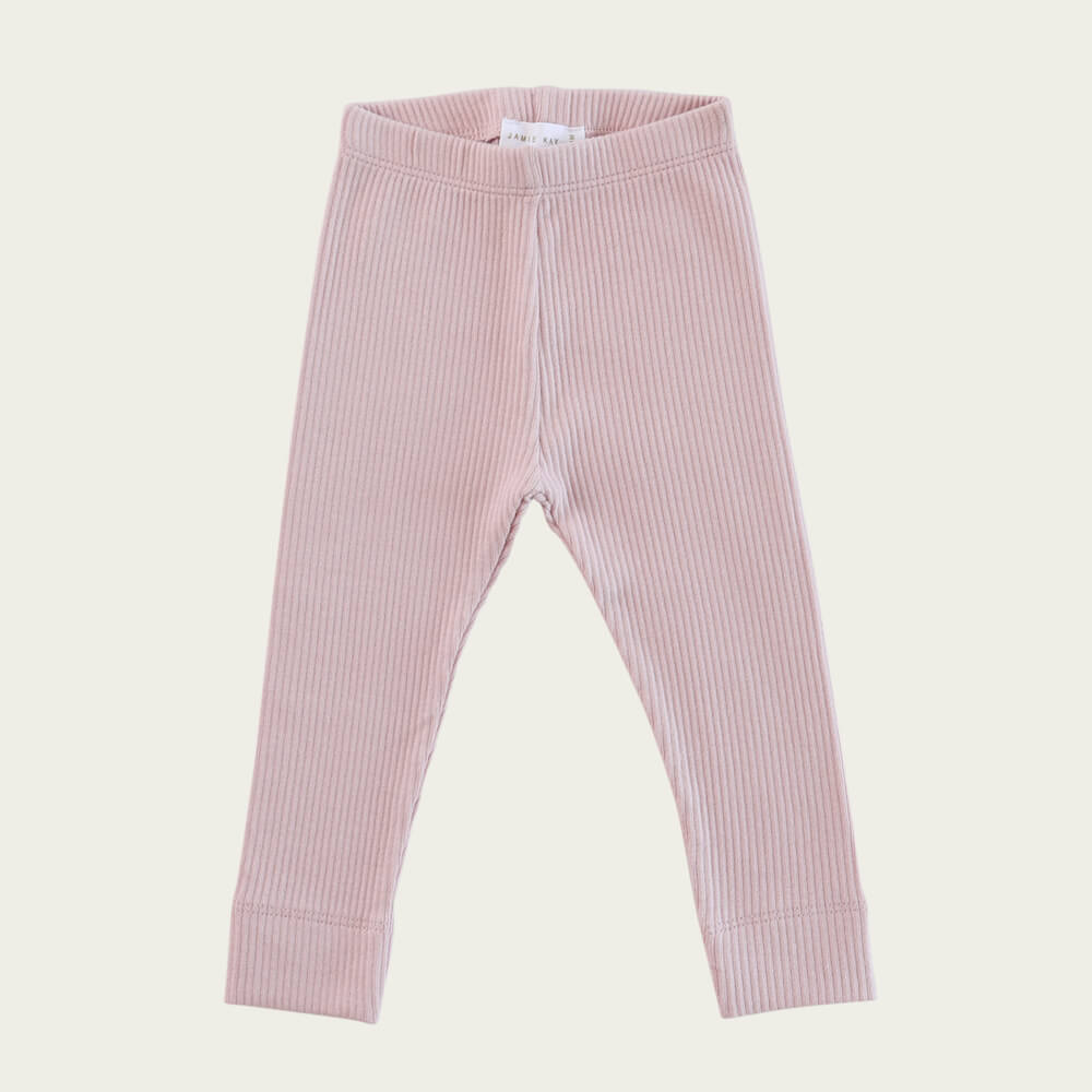 Jamie Kay Organic Essential Leggings Old Rose | Tiny People