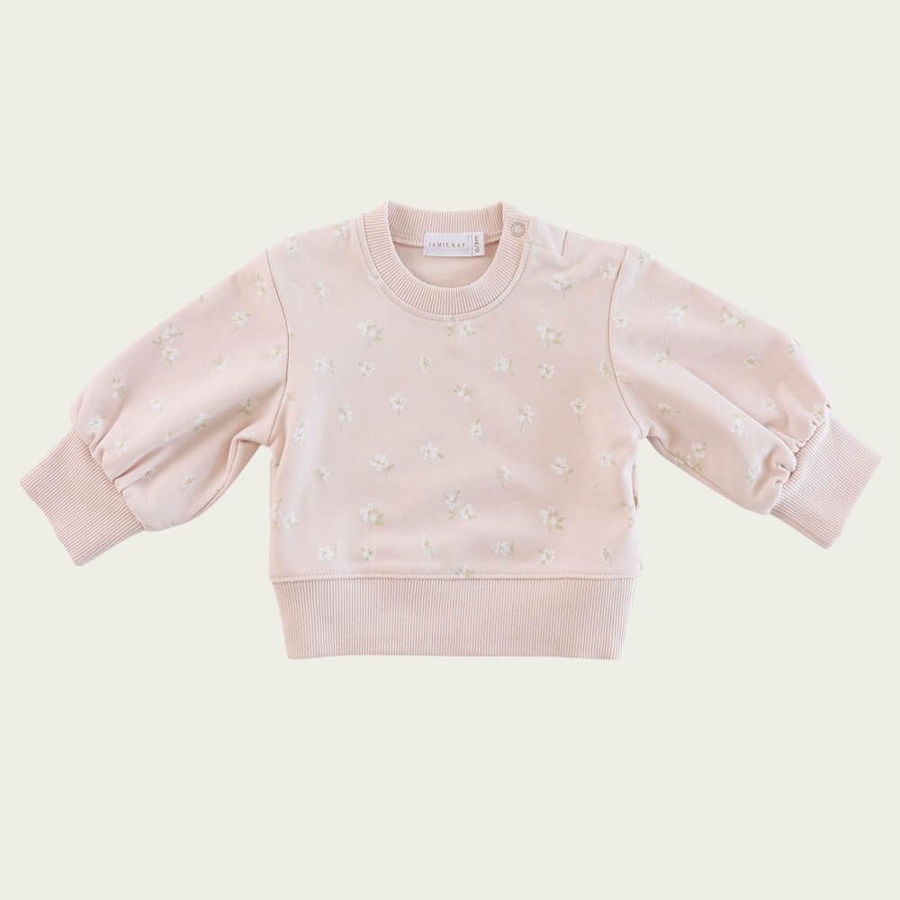 Jamie Kay Penny Sweat Evie Floral | Tiny People