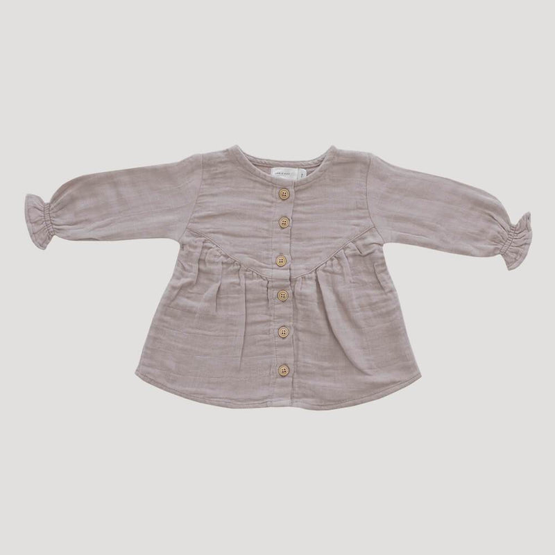 Jamie Kay Lila Blouse Rosebud Baby Tops & Tees - Tiny People Cool Kids Clothes