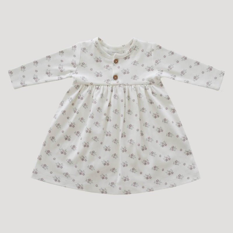 Jamie Kay Rose Floral Dress Dresses - Tiny People Cool Kids Clothes