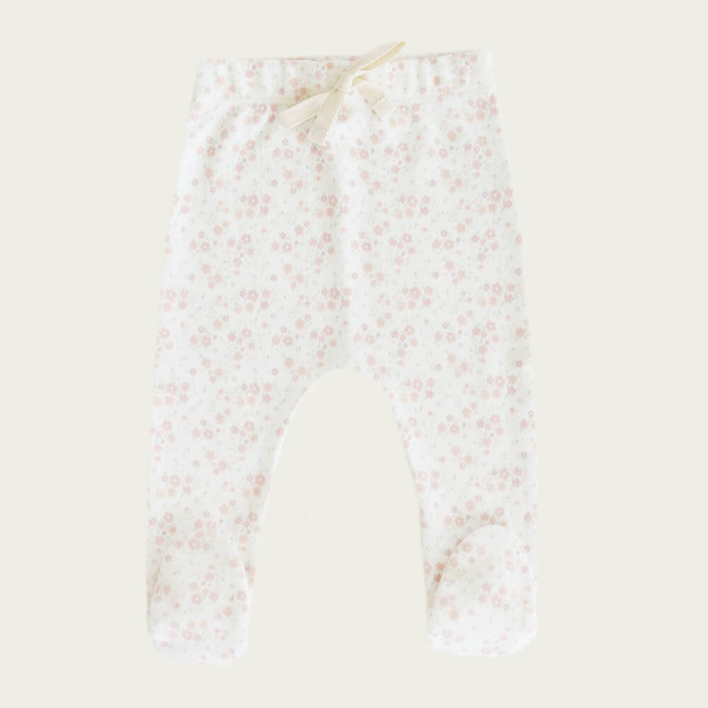 Jamie Kay Footed Pant Primrose Floral | Tiny People