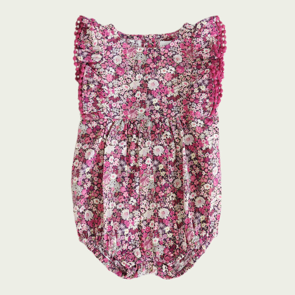 Jamie Kay Stella Playsuit Garden Print | Tiny People