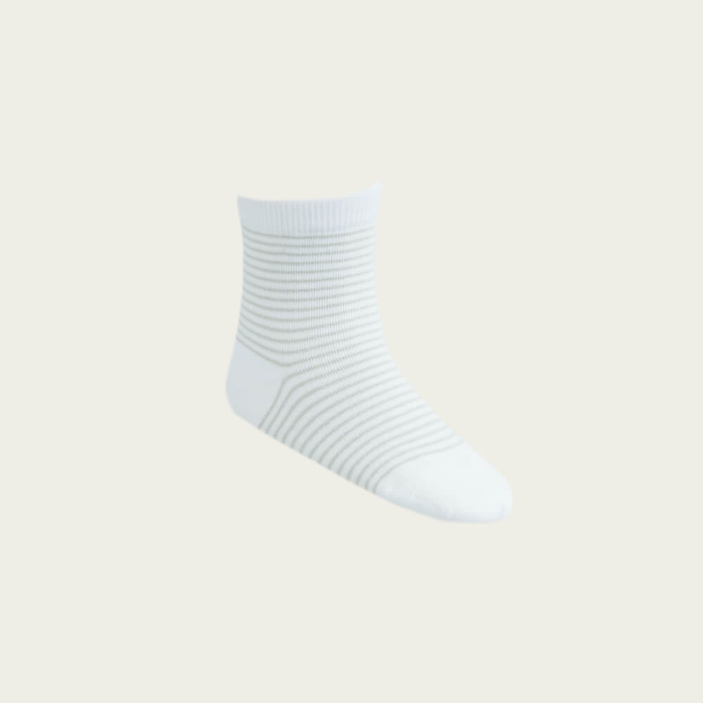 Stripe Sock Alfalfa/Cloud