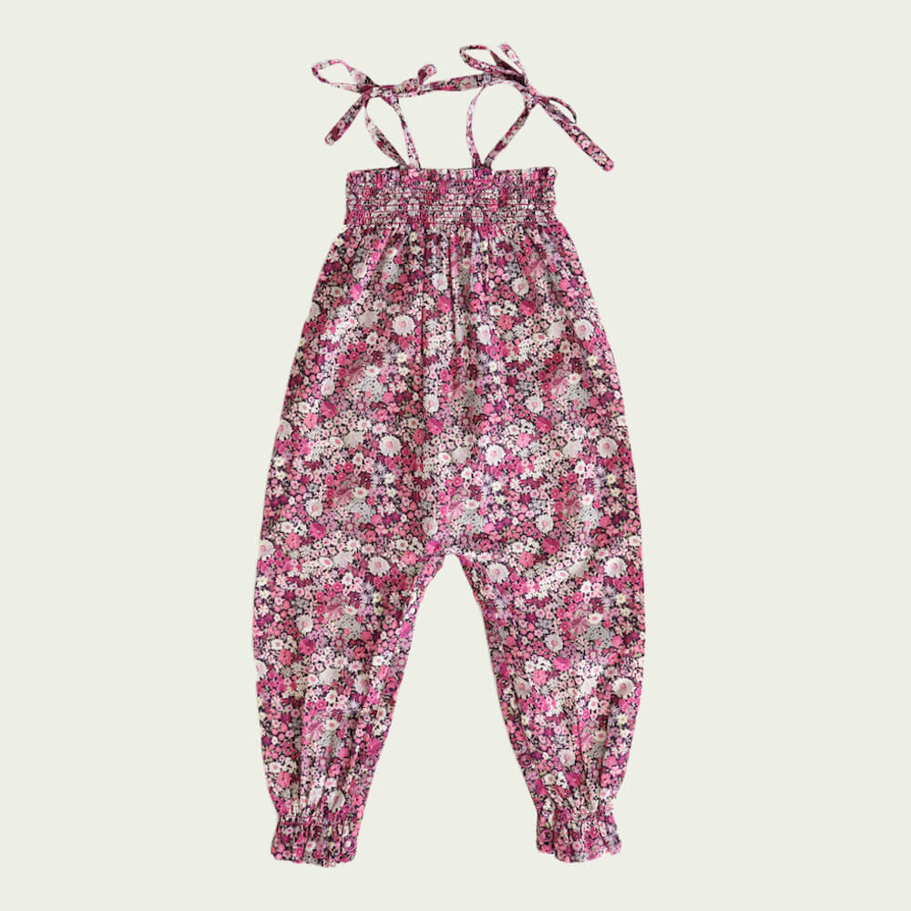 Jamie Kay Summer Playsuit Garden Print | Tiny People