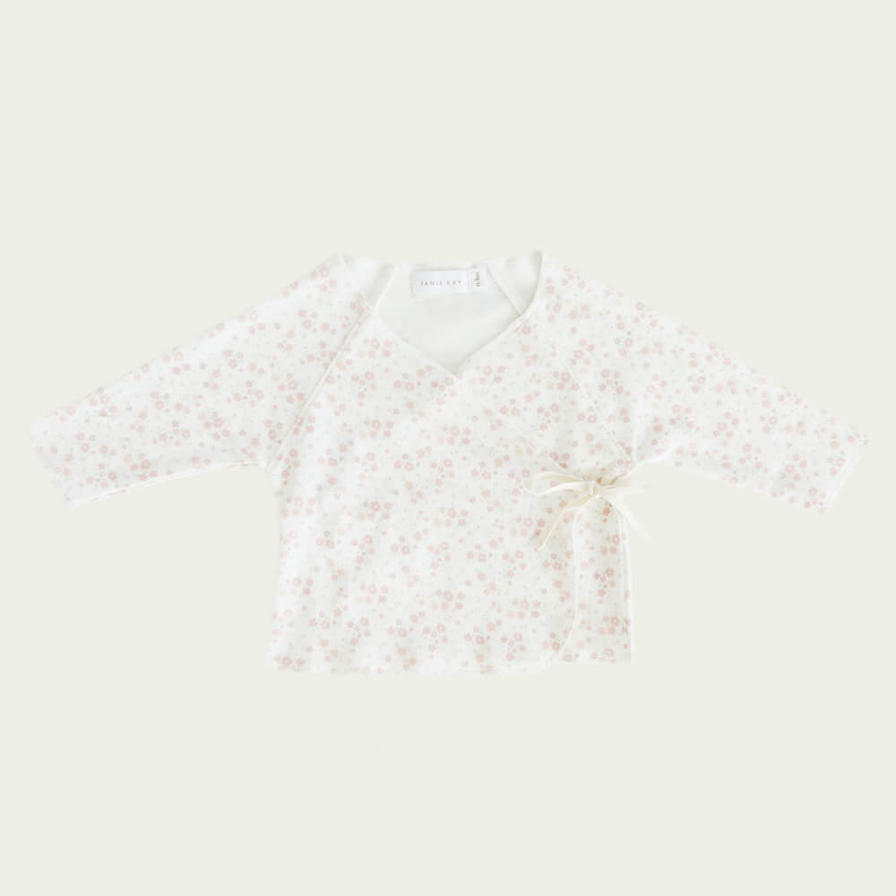 Jamie Kay Wrap Top Primrose Floral | Tiny People