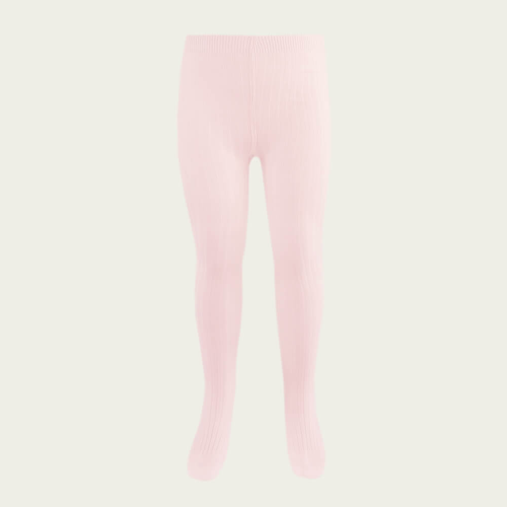 Jamie Kay Ribbed Tights Blush | Tiny People