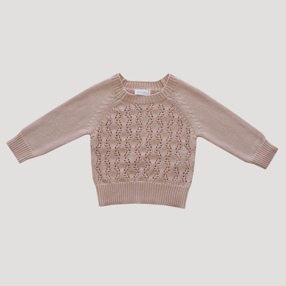 Jamie Kay Marlie Knit Petal Jumper - Tiny People Cool Kids Clothes