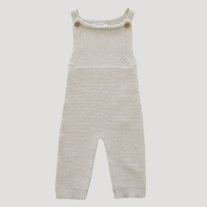 Jamie Kay Scout Romper Oatmeal Marle Romper - Tiny People Cool Kids Clothes