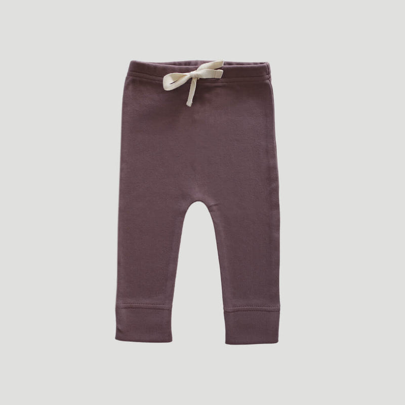Organic Cotton Interlock Alex Pant Dusk