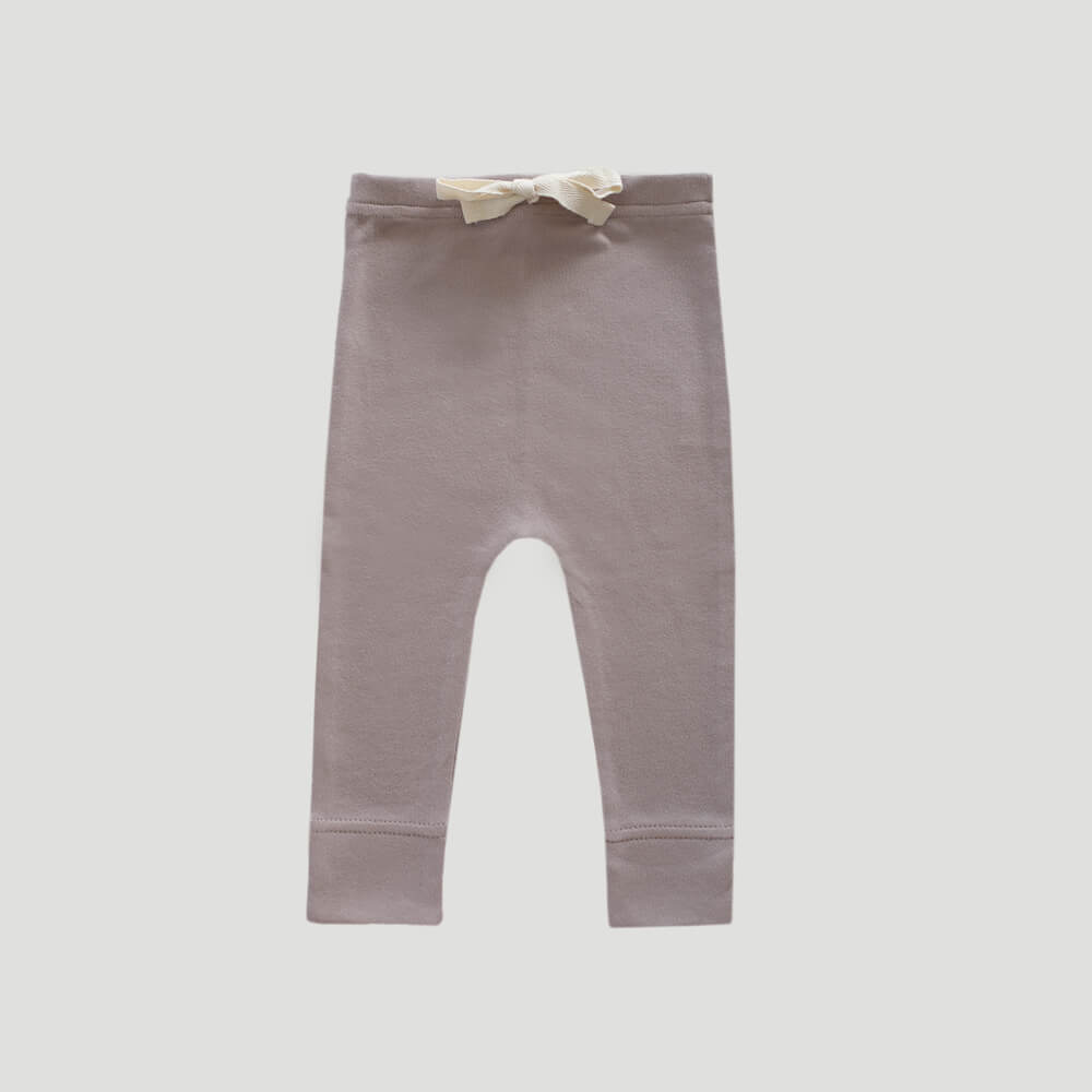 Organic Cotton Interlock Alex Pant Sweetpea