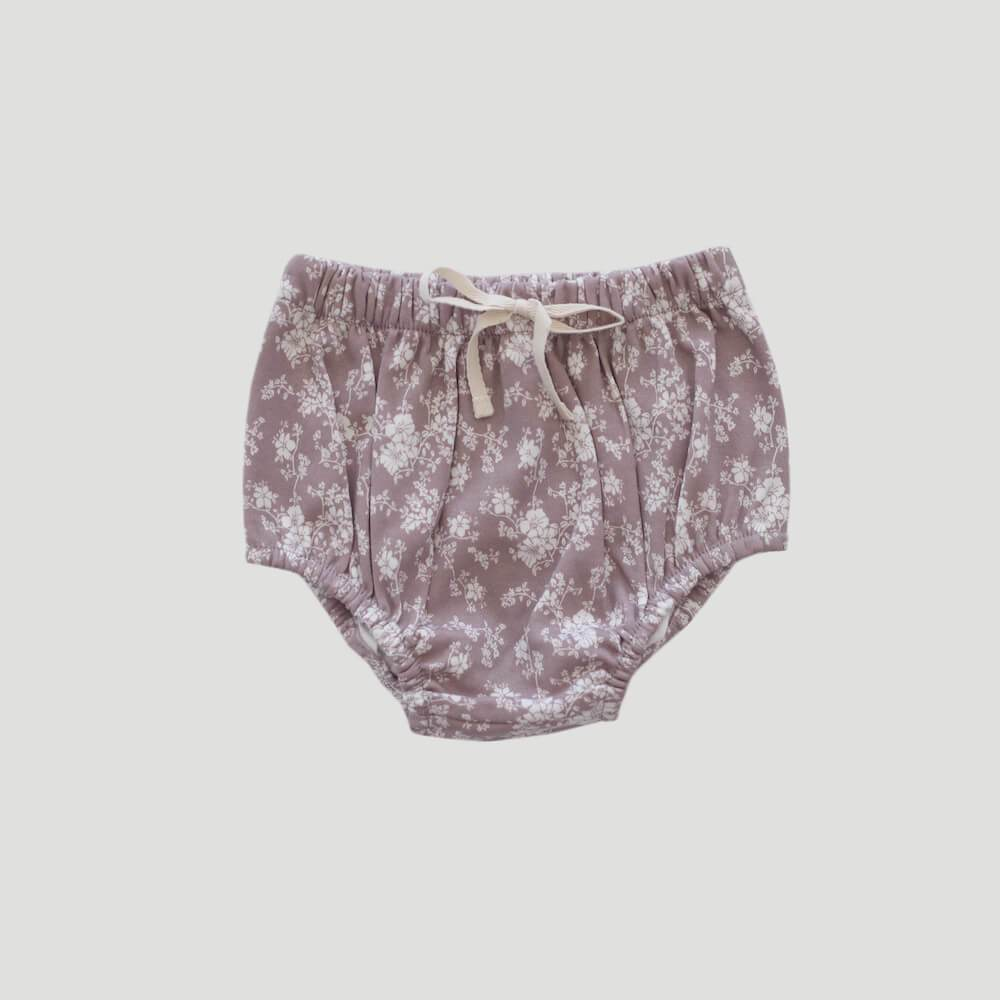 Organic Cotton Bloomer Fawn Floral
