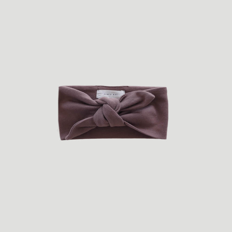 Organic Cotton Interlock Headband Dusk