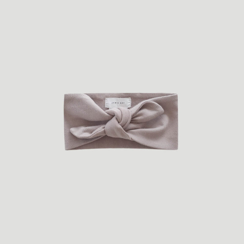 Organic Cotton Interlock Headband Sweetpea