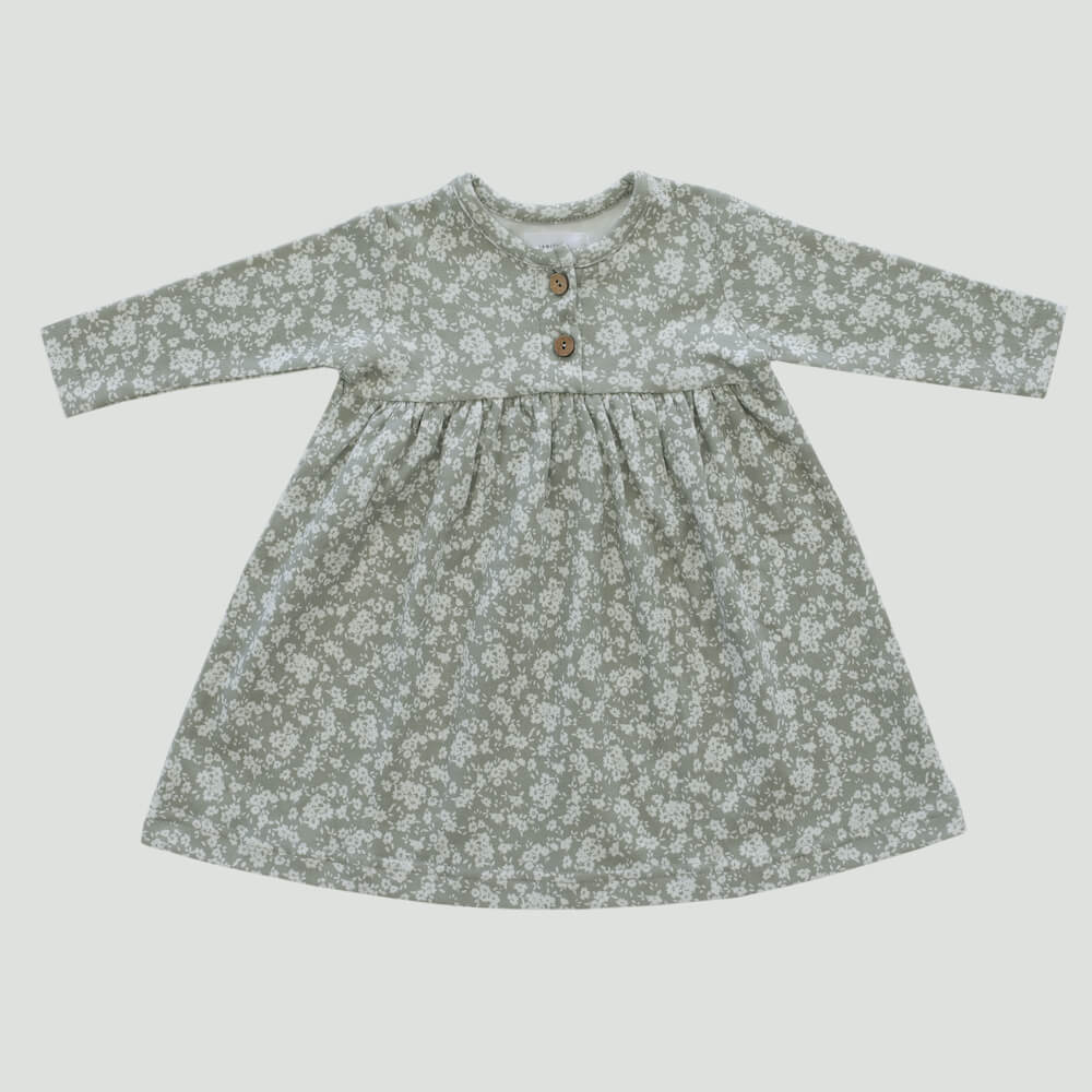 Organic Cotton Pixie Dress Sadie Floral