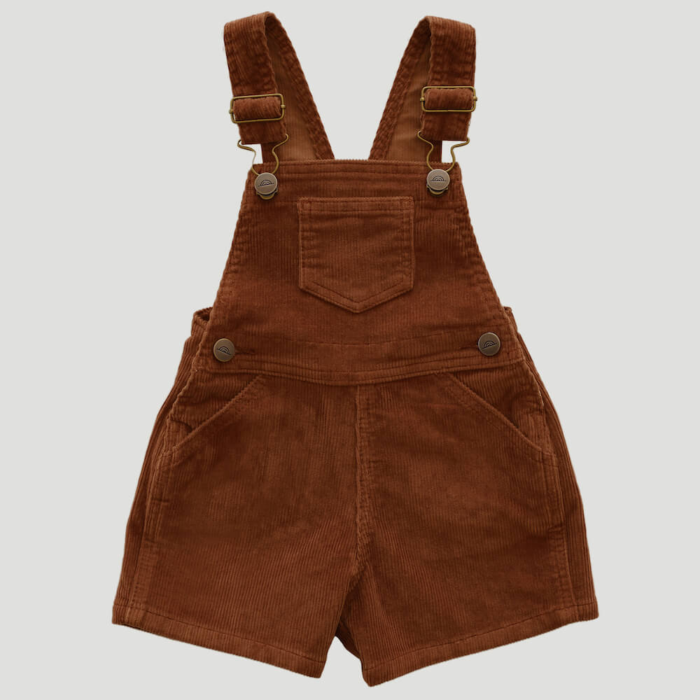 Jamie Kay Reign Short Overall Gingerbread | Tiny People